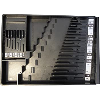 Tool Sorter Wrench Organizer Black
