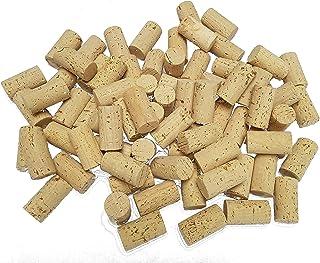 Lot de 100 bouchons en liège 45 x 24 mm – Bouchons de vin pour bricoler – DIY – Idées de bricolage – écologiques, végétaliens