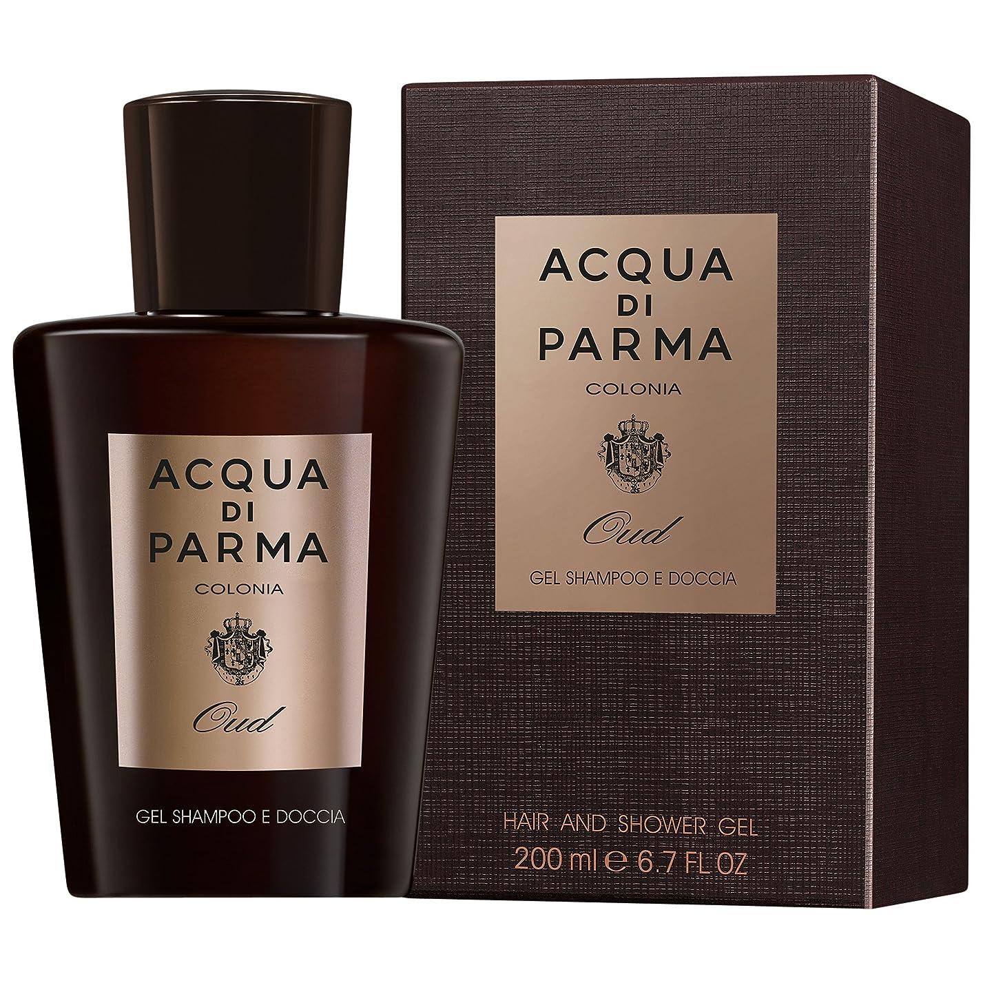 愛情深いテレビ致命的アクア?ディ?パルマコロニアウードシャワージェル150ミリリットル (Acqua di Parma) (x2) - Acqua di Parma Colonia Oud Shower Gel 150ml (Pack of 2) [並行輸入品]