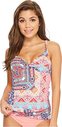 Bleu Rod Beattie Free Spirit OTS Underwire Twist Tankini