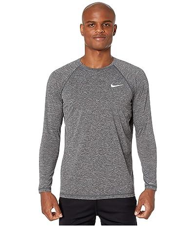Nike Heather Long Sleeve Hydroguard (Black) Men