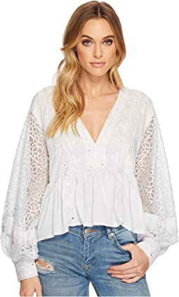 Free People - Boogie All Night Solid Blouse