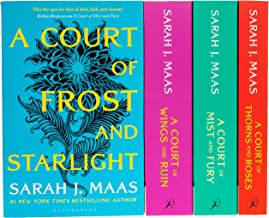 A Court of Thorns and Roses Series Sarah J. Maas 4 Books Collection Set (A Court of Thorns and Roses, A Court of Mist and ...