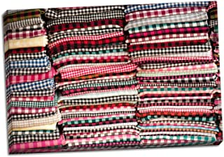 Gango Home Décor Cambodian Scarves, Fine Art Photograph by: Erin Berzel; One 36x24in Hand-Stretched Canvas