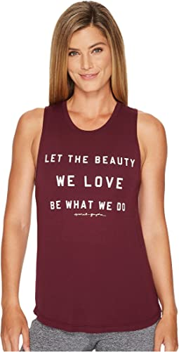 Spiritual Gangster - The Beauty We Love Muscle Tank Top