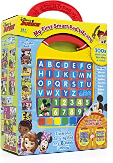 Disney Junior - My First Smart Pad Electronic Activity Pad and 8-Book Library - PI Kids