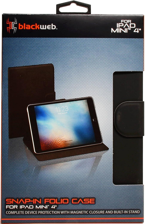 Blackweb BWA17TA014 Excellence Folio for 4 Mini Black iPad Opening large release sale