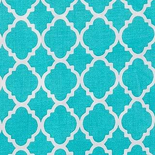 Best quatrefoil print fabric Reviews