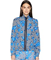Kate Spade New York Athleisure - Hibiscus Stripe Jacket