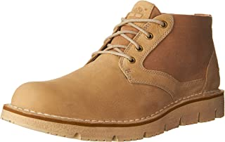 Timberland Men's Westmore Leather and Fabric Chukka Boot