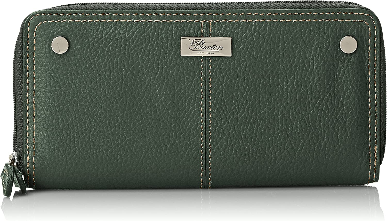 Buxton Westcott Slim Double Zip Wallet