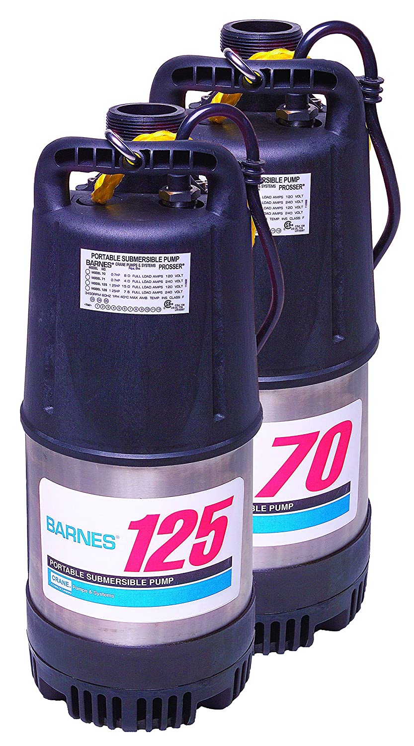 Barnes Model 70 Submersible Recommended Dewatering Max 46% OFF Pump 5 10-HP 10 – 7