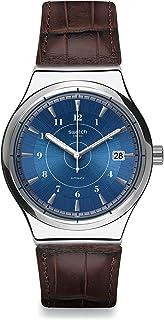 Reloj Digital para Hombre de Cuarzo con Correa en Cuero YIS404