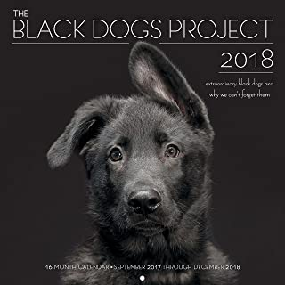 The Black Dogs Project 2018: 16 Month Calendar Includes September 2017 Through December 2018