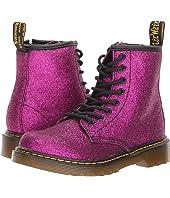 Dr. Martens Kid's Collection 1460 Glitter Junior Delaney Boot (Little Kid/Big Kid)
