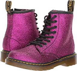 1460 Glitter Junior Delaney Boot (Little Kid/Big Kid)