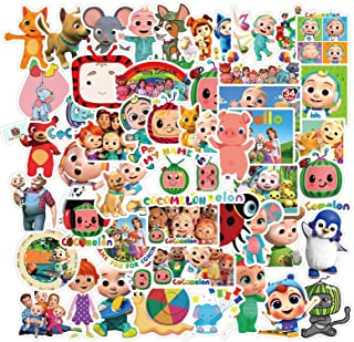 Cocomelon Stickers | 50 PCS | Vinyl Waterproof Stickers for Laptop,Skateboard,Water Bottles,Computer,Phone,Guitar,Cocomelo...