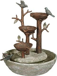 Grasslands Road 464246, Multicolor Bird Nest Cement Fountain, 12