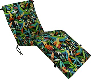 Blazing Needles Outdoor Chaise Lounge Cushion, 72