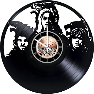Game of Thrones Vinyl Record Wall Clock - Bedroom or Home Wall Decor - Gift Ideas for Friends,  Teens,  Boys and Girls - Epic Drama Unique Art Design