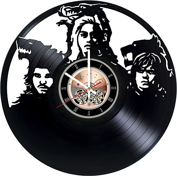 Game Of Thrones Vinyl Record Wall Clock Bedroom Or Home Wall Decor Gift Ideas For Friends Teens Boys And Girls Epic Drama Unique Art Design