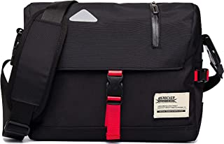 Kemy's Messenger Bag School Work Sport Fits Shoulder Bag Nylon Satchel Shoulder Crossbody Men & Women