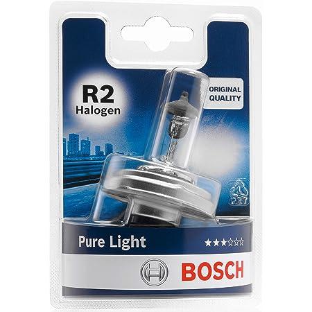 Bosch 1987301021 Autolampe R2 Halogen Pure Light Scheinwerferlampe Erstausrüsterqualität Auto