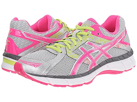 ASICS Gel-Excite 3 Silver/Hot Pink/Lime Punch Women's Running Shoes 8523178