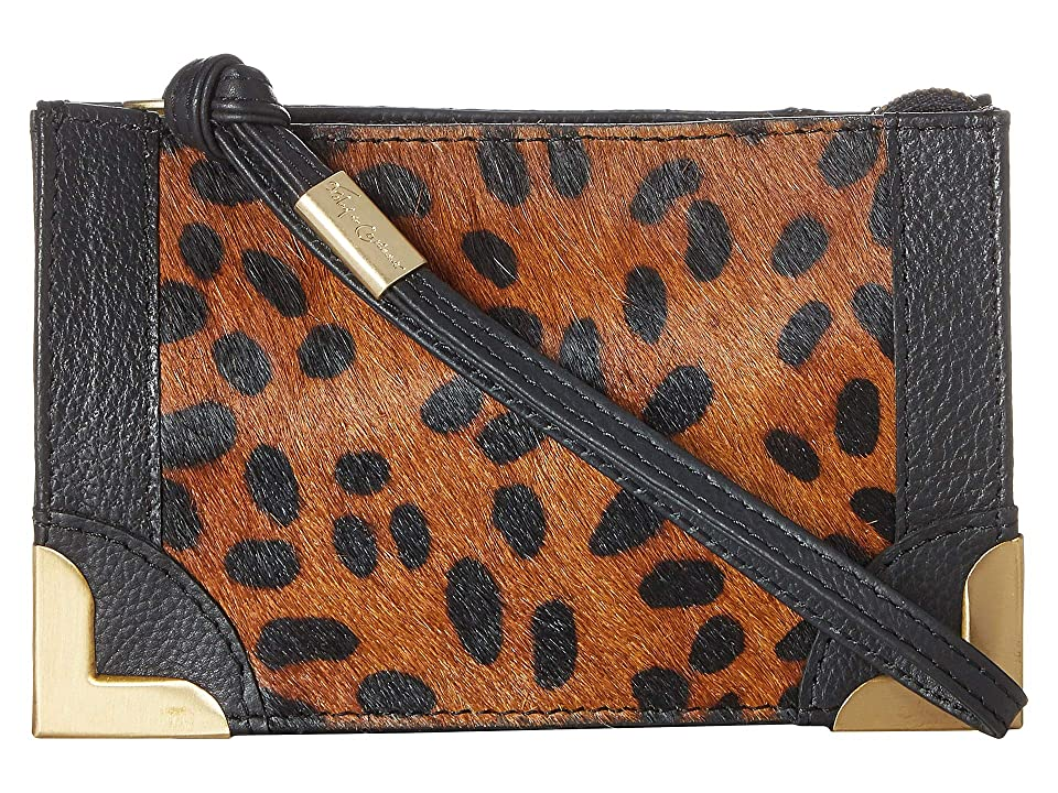 Foley & Corinna Framed Wristlet Pouch (Leopard) Handbags