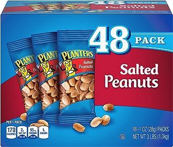 48 Pack Planters Salted Peanuts