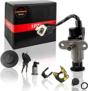 1PZ IKS-401 Ignition Switch Key set for 139QMB 1P39QMB 50cc 125 150cc Moped Scooter Diamo Velocity 150
