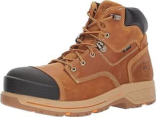 """Timberland PRO Men's Helix HD 6"""" Composite Toe Waterproof Industrial & Construction Shoe"""