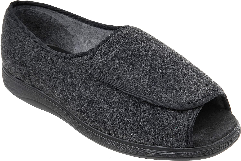 Cosyfeet Jonny Extra Roomy (3H Width) Men's Fabric shoes