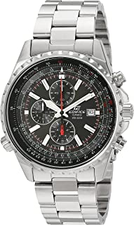 Casio Men's EF527D-1AV Edifice Stainless Steel Multi-Function Chronograph Watch