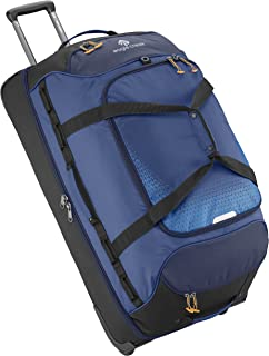 Expanse Drop Bottom Wheeled Duffel Bag, 32-Inch, Twilight Blue