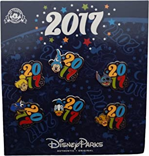 Disney Pin - 2017 Dated Character Booster