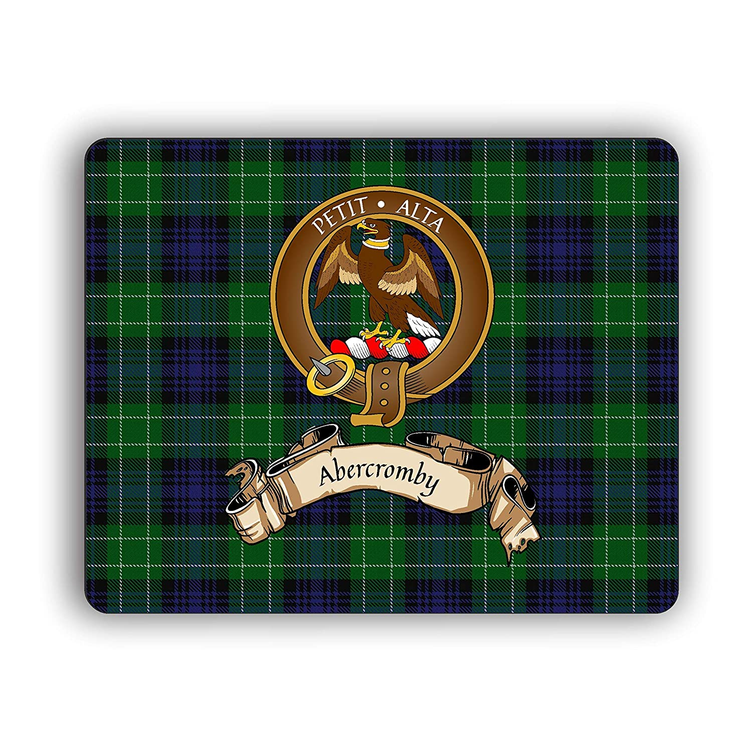 Milwaukee Mall Scottish Clan Abercromby Tartan Pad Max 48% OFF Crest Computer Mouse