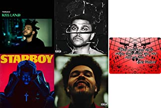 The Weeknd: Complete Studio Album Discography CD Collection ( After Hours / Star Boy / and More ) with Bonus Art Card