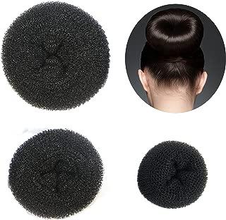 Best donut bun black hair Reviews