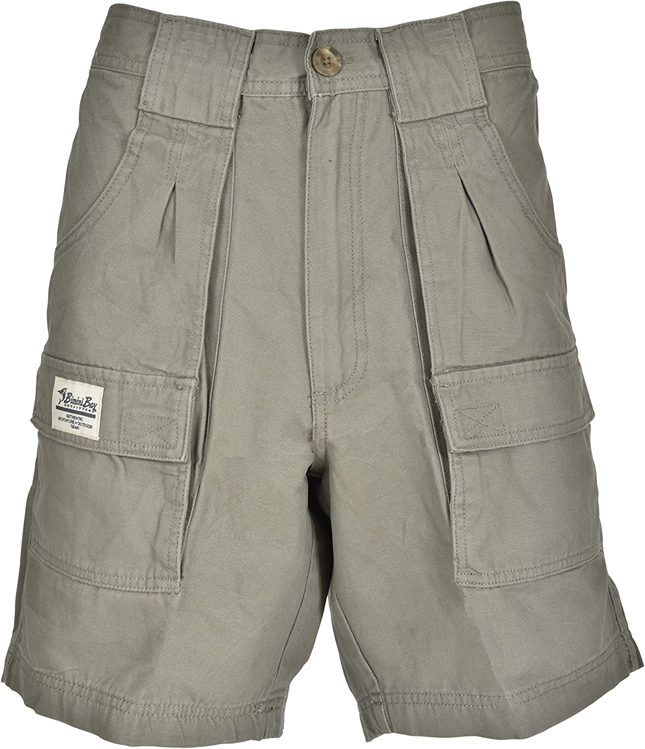 Bimini Bay Outfitters Outback Hiker Cotton Cargo Short Green -