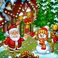 Farm Snow: Happy Christmas Story With Toys & Santa
