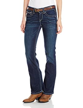 ARIAT Women's R.e.a.l. Mid Rise Bootcut Jeans