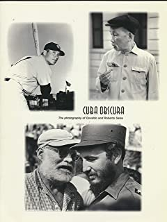 Cuba Obscura the Photography of Osvaldo and Roberto Salas (2000 Exhibition Pamphlet)