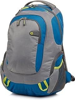 HP Sports Backpack F3 W17AA – 39.6 cm (15.6 Inches Black/Yellow grau/