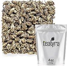 Tealyra - Jasmine Phoenix Pearls - Best Chinese Jasmine Green Tea - Loose Leaf - Organically Grown - Great Jasmine Aroma a...
