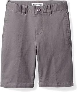 grey boys school shorts