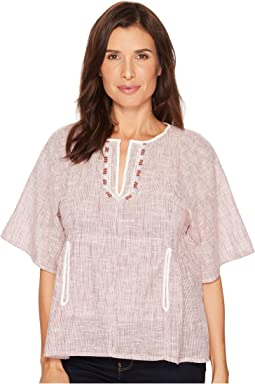 B Collection by Bobeau Willie Peasant Blouse