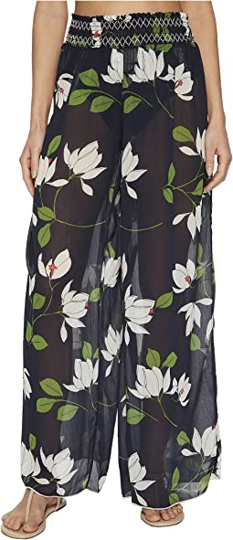 Robin Piccone - Elisa Sheer Wide Leg Pant Cover-Up