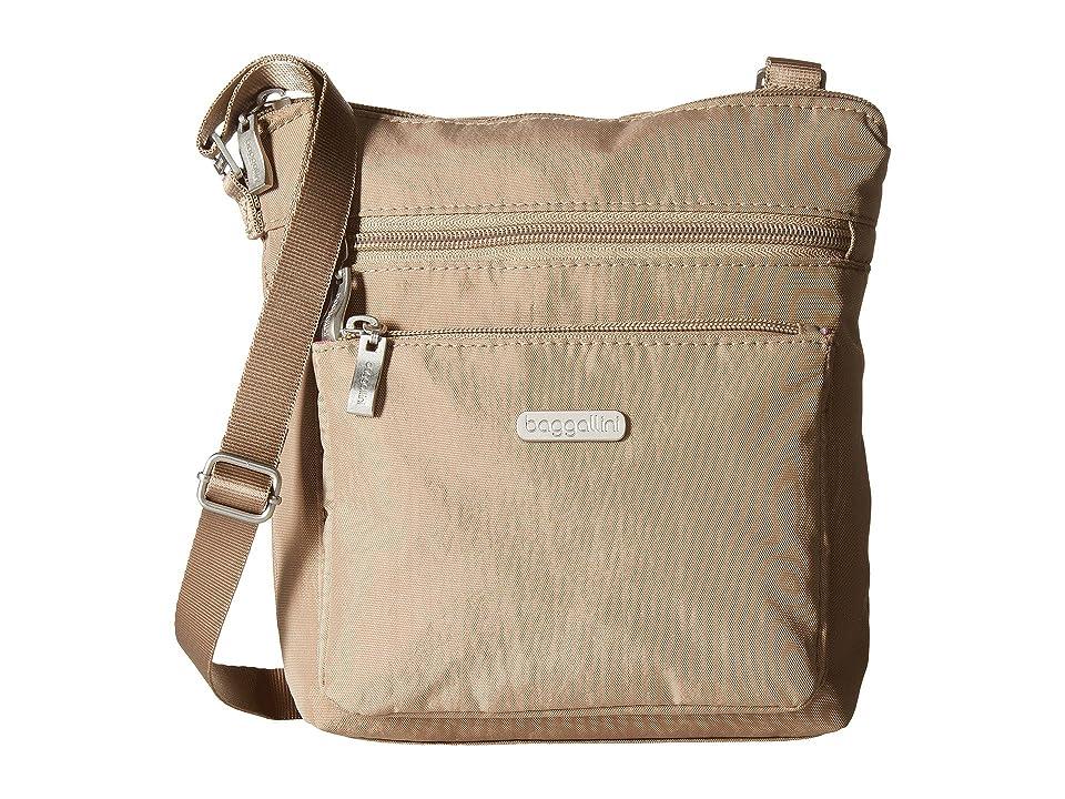 Baggallini Crossbody Bag w/ RFID Wristlet (Beach) Cross Body Handbags