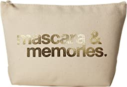 Dogeared - Mascara & Memories Gold Foil Lil Zip